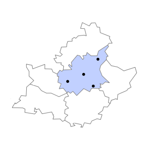 Carte du département des Alpes-de-Haute-Provence
