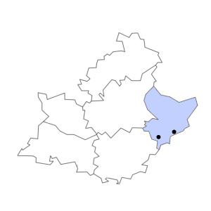 Carte du département des Alpes-Maritimes
