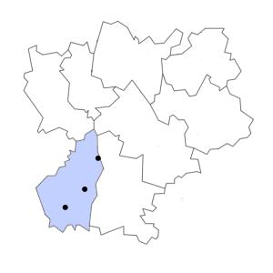 Carte du département de l'Ardèche