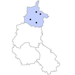 Carte du département des Ardennes