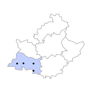 Carte du département des Bouches-du-Rhône