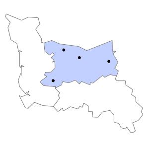 Carte du département du Calvados