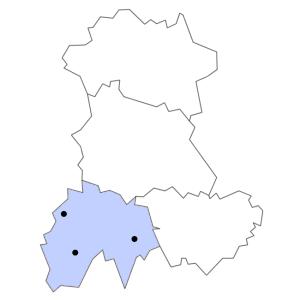 Carte du département du Cantal