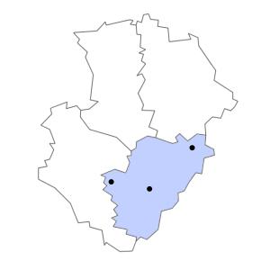 Carte du département de la Charente