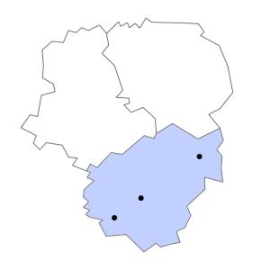Carte du département de la Corrèze