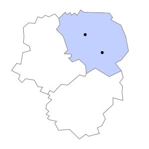 Carte du département de la Creuse