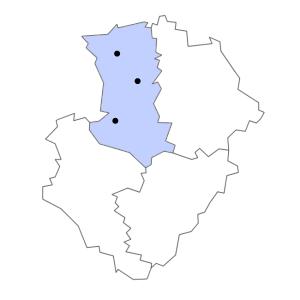Carte du département des Deux-Sèvres