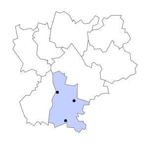 Carte du département de la Drôme