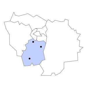 Carte du département de l'Essonne