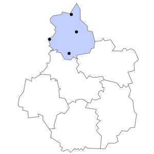 Carte du département d'Eure-et-Loir