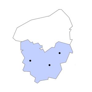 Carte du département de l'Eure