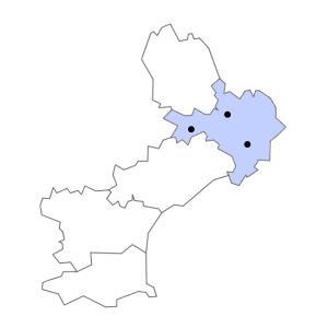 Carte du département du Gard
