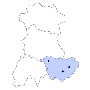 Carte du département de la Haute-Loire