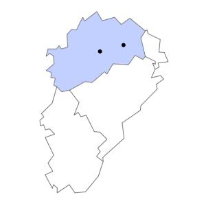 Carte du département de la Haute-Saône