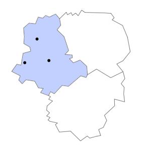 Carte du département de la Haute-Vienne