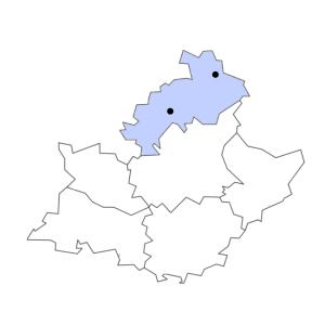 Carte du département des Hautes-Alpes