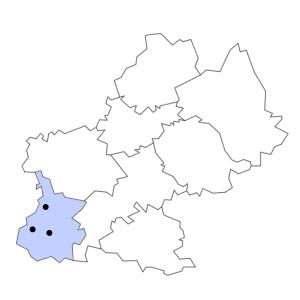 Carte du département des Hautes-Pyrénées