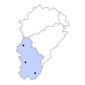 Carte du département du Jura