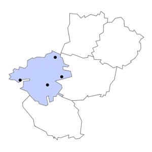 Carte du département de la Loire-Atlantique