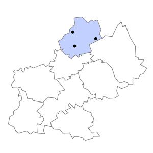 Carte du département du Lot