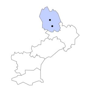 Carte du département de la Lozère