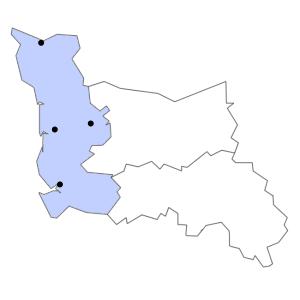 Carte du département de la Manche