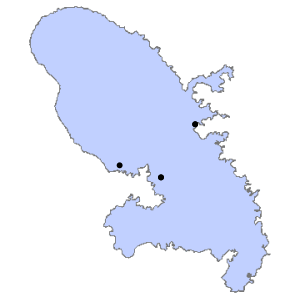 Carte du département de la Martinique