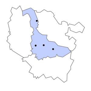 Carte du département de Meurthe-et-Moselle