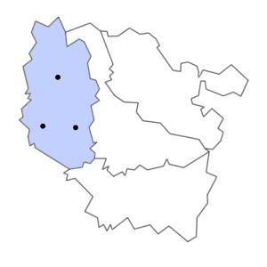 Carte du département de la Meuse