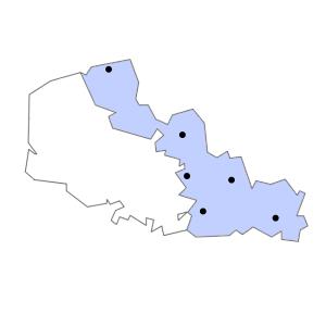 Carte du département du Nord