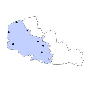Carte du département du Pas-de-Calais