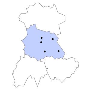 Carte du département du Puy-de-Dôme