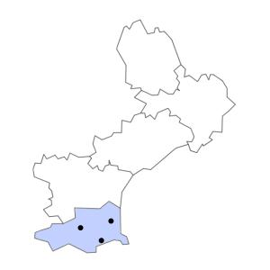 Carte du département des Pyrénées-Orientales