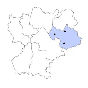 Carte du département de la Savoie