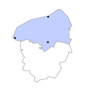 Carte du département de la Seine-Maritime