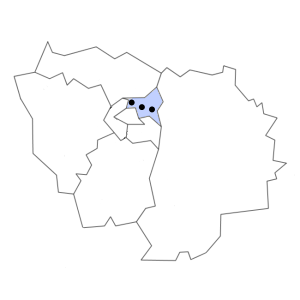 Carte du département de la Seine-Saint-Denis