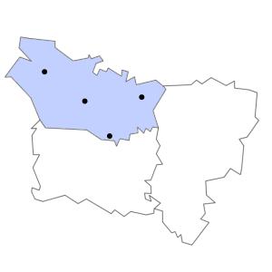 Carte du département de la Somme