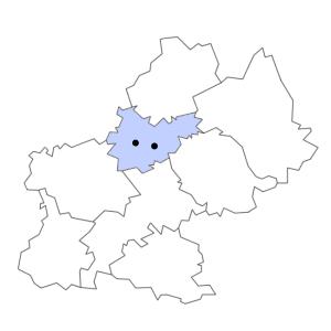 Carte du département de Tarn-et-Garonne