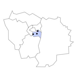 Carte du département du Val-de-Marne