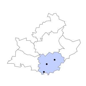 Carte du département du Var