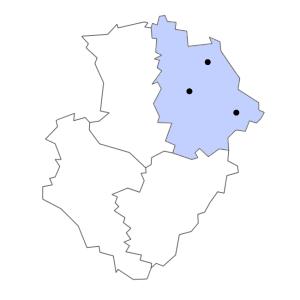 Carte du département de la Vienne