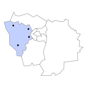 Carte du département des Yvelines