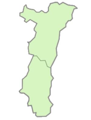 Départements de la région Alsace