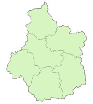 Départements de la région Centre-Val de Loire