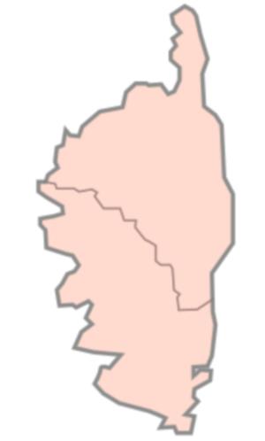 Départements de la région Corse