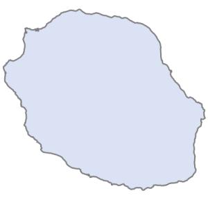 Départements de la région La Réunion