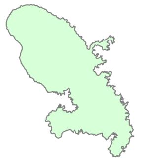 Départements de la région Martinique