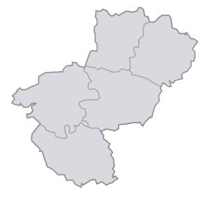 Départements de la région Pays de la Loire